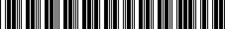 Barcode for 000051447A