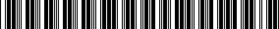 Barcode for 000071120ADSP