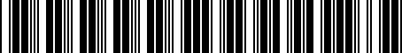 Barcode for 000071129M