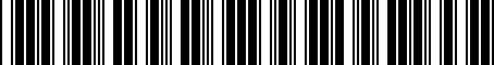 Barcode for 1K8071720A