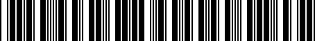 Barcode for 5N0035554K