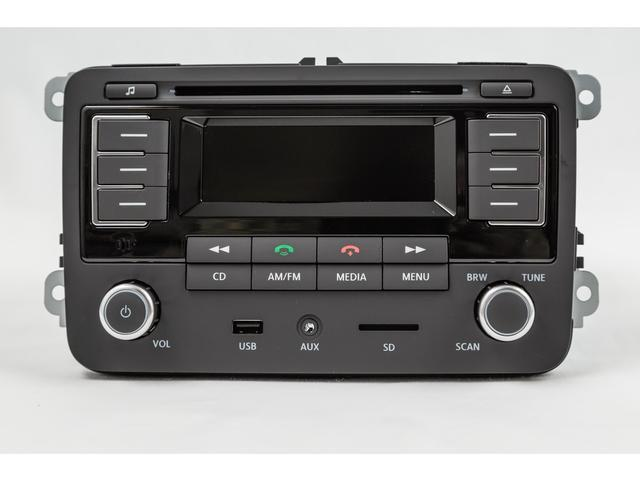 Diagram RMT 300 MP3 Bluetooth Radio (6Q0051228F) for your 2020 Volkswagen Golf